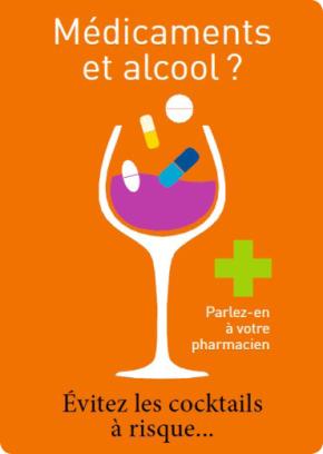 Médicaments et alcool ? Évitez les cocktails à risque!