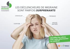 Semaine de la migraine du 13 au 18mai